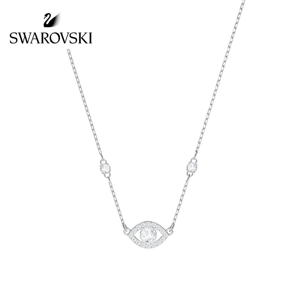 【Alanya Store】Swarovski LUCKILY Clavicle Chain Necklace Female Jewelry Girlfrien