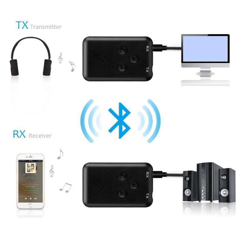 Bộ thu phát Bluetooth 2 trong 1 tiện dụng