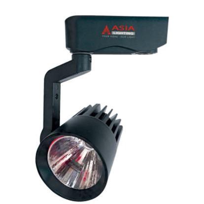 Đèn LED rọi ray 30W vỏ đen ASIA