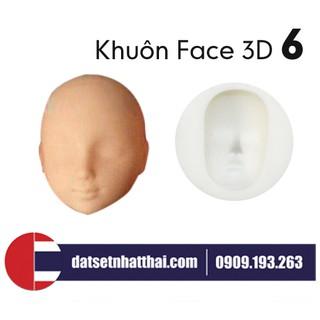 Khuôn làm mặt Búp Bê BJD Doll Face Figure Chibi Nhà Búp Bê số 6