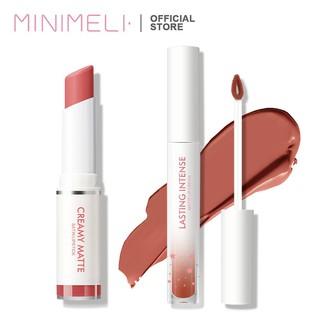 MINIMELI Bộ son môi và son kem trang điểm lâu trôi 30g thumbnail