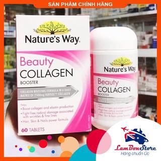 Collagen viên Nature s Way Beauty Collagen Booster 60 viên - Xuất xứ Úc thumbnail