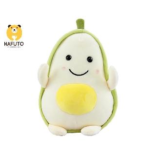 Thú bông quả bơ trắng tròn size 20cm HAFUTO