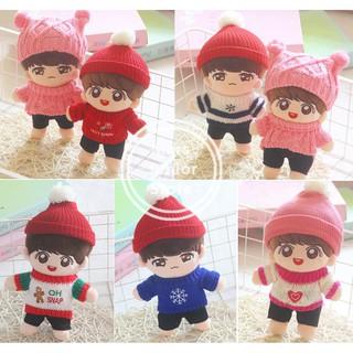 Ready to Ship 20CM BTS Jung Kook Cute Bangtan Boys Jungkook Plush Stuffed Toy Soft Doll Army Christmas Gift
