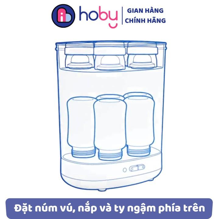 Máy tiệt trùng hơi nước Philips Avent 2 in 1 - Tiệt trùng công nghệ mới. Bảo hành theo hãng 12 tháng [HOBY]