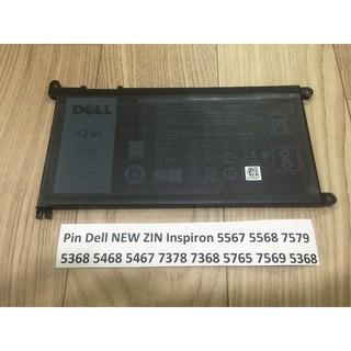 Pin Dell NEW ZIN Inspiron 5567 5568 7579 5368 5468 5467 7378 7368 5765 7569 5368 WDX0R Chính Hãng