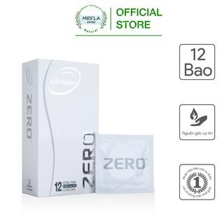 Bao cao su LifeStyles Zero, siêu mỏng, siêu mềm, tạo cảm giác tự nhiên cao cấp 1 thumbnail