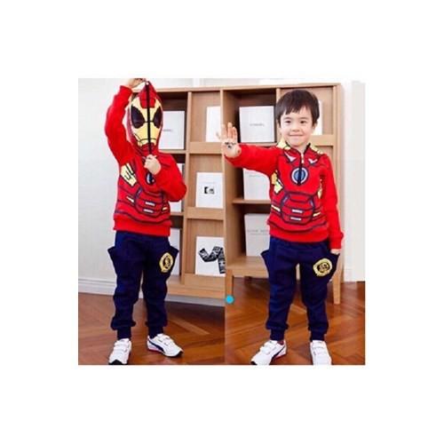 Bộ siêu nhân cực ngầu cho bé trai 1-4 tuổi từ 8-17kg_CBT21871