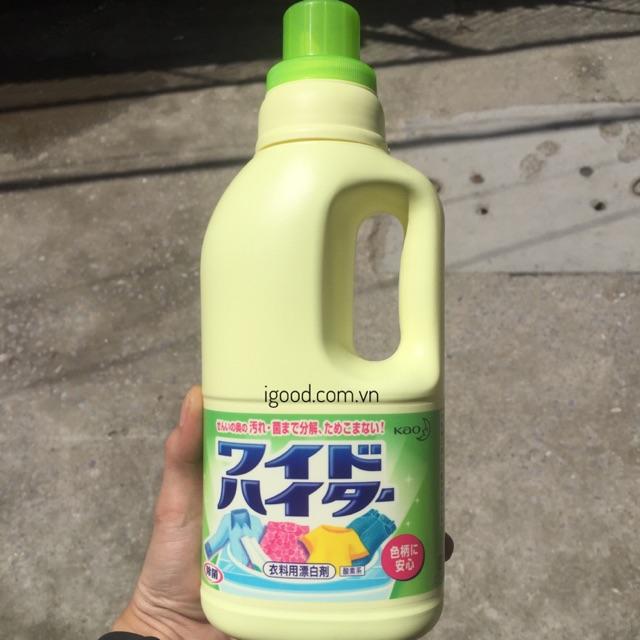 Nước tẩy quần áo màu Kao Nhật Bản (chai 1 lít)