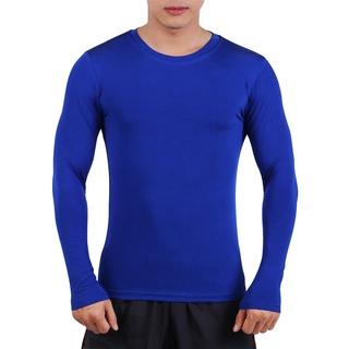 Áo Body Thể Thao, Bóng Đá, Tập Gym Nam Tay Dài Siêu Co Giãn Cao Cấp 5