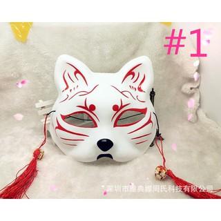Mặt nạ hóa trang bằng PVC hình con cáo độc đáo NTQ(92)