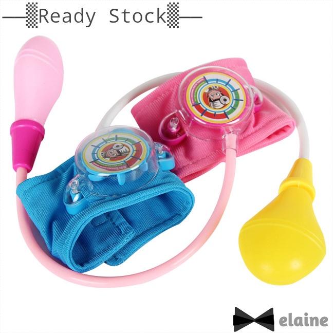 Elaine Medical Doctor Kit Toy Kids Doctor Set Home Doctor Nurses Blood Pressure Toys