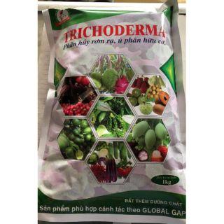 Nấm trichoderma Đông Tây gói 1kg