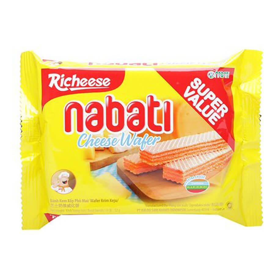 Bánh xốp Nabati nhân kem phô mai gói 52g (combo 2 gói) - 3546768 , 1350765359 , 322_1350765359 , 12000 , Banh-xop-Nabati-nhan-kem-pho-mai-goi-52g-combo-2-goi-322_1350765359 , shopee.vn , Bánh xốp Nabati nhân kem phô mai gói 52g (combo 2 gói)