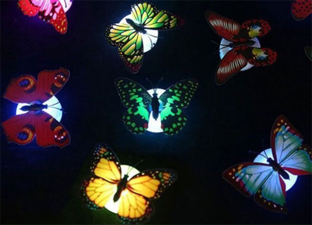 Đèn ngủ dán tường bướm