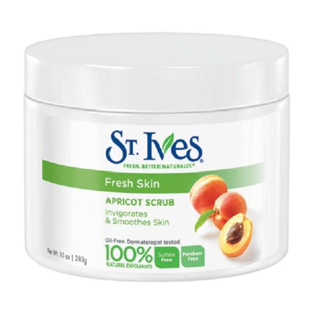 Tẩy Tế Bào Chết Body STIves Fresh Skin 283g - Mơ sọc cam cho da nhạy cảm