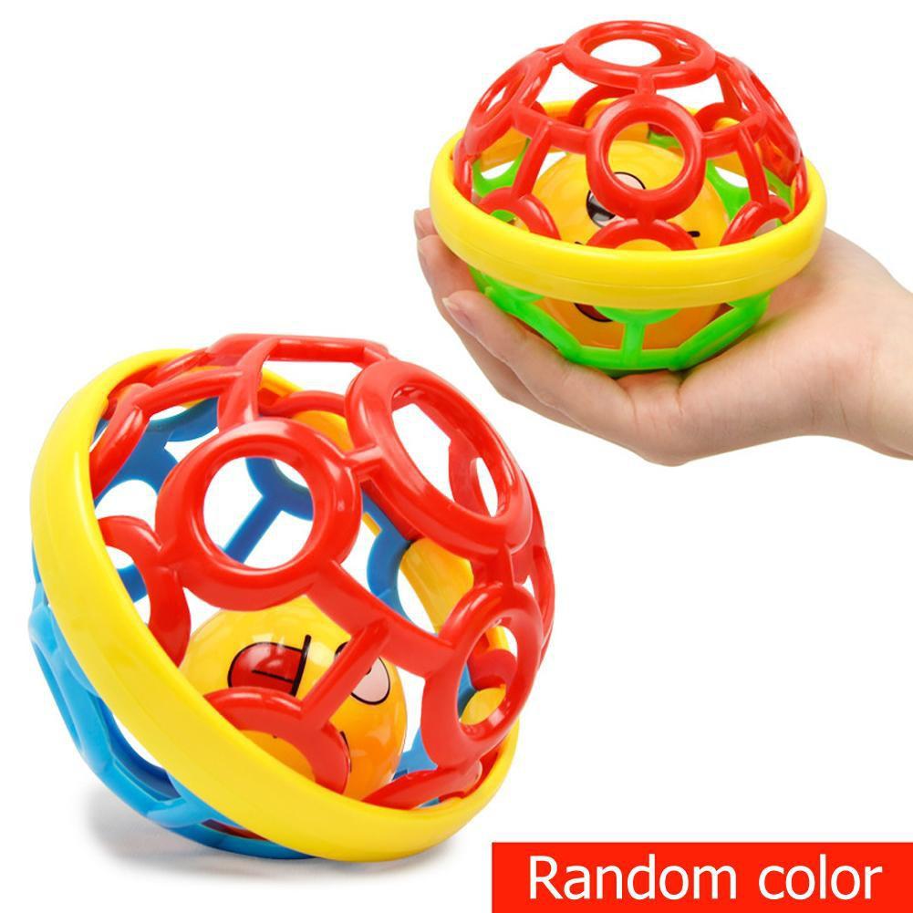 Đồ chơi bắt bóng bằng cao su mềm cho bé từ 0-1 tuổi