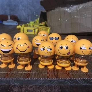 Đồ chơi thú nhún lò xo Emoji ( hàng có sẵn ) mẫu giao ngẫu nhiên