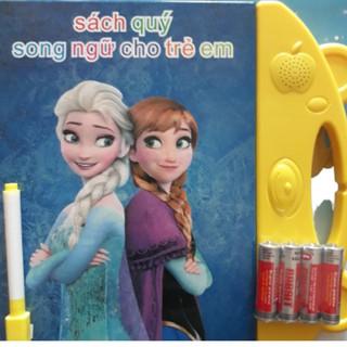 [Tặng Kèm Pin] Sách Quý Song Ngữ Điện Tử Trẻ Em Anh Việt Tặng Kèm Pin và Bút