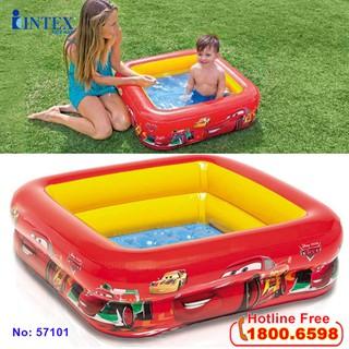 Bể bơi phao INTEX hình vuông bản quyền 57101