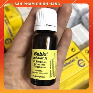 [FREESHIP- Nội địa Đức] Tinh dầu cảm Babix Inhalat N (10ml) thumbnail