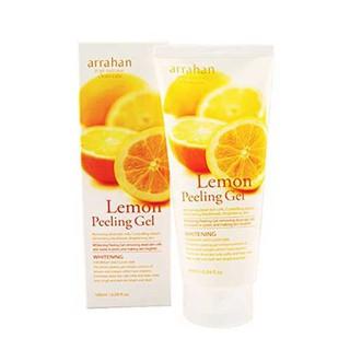 Tẩy Tế Bào Chết Arrahan Lemon Peeling Gel Chính Hãng Hàn Quốc 180ml Chiết Xuất Từ Trái Chanh Thiên Nhiên thumbnail