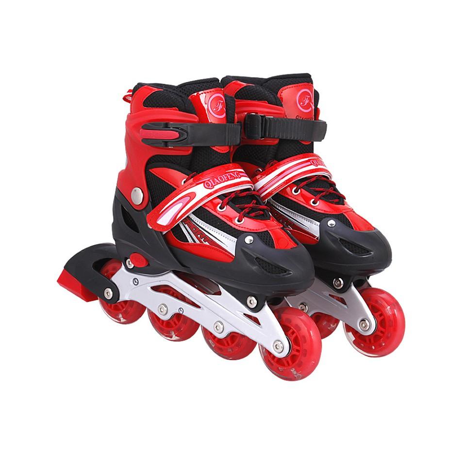 Giày Patin Đinh Phát Sáng - Màu Đỏ