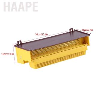Haape Removable Yellow Plastic Pollen Trap With Small Pole Ventilated Tray Beekeeping Tool – intl