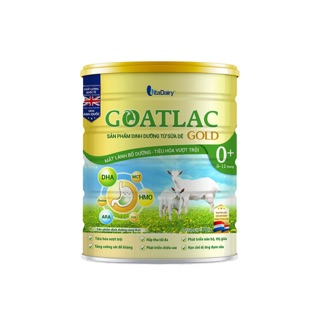 Sữa dê Goatlac gold 0+ loại 800g (mẫu mới thay thế cho Goatlac 1,2) thumbnail