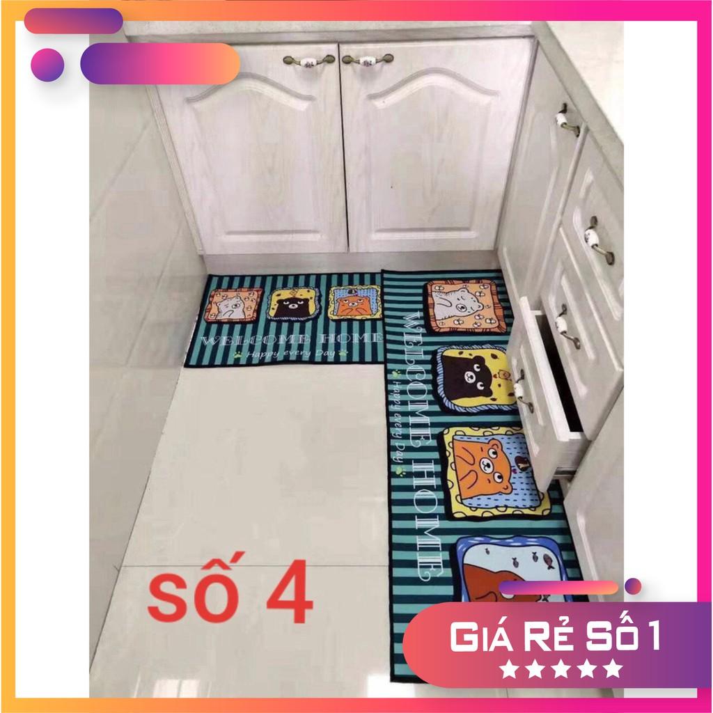 Xả kho 2 thảm bếp 3d sang chảnh ( được chọn mẫu)