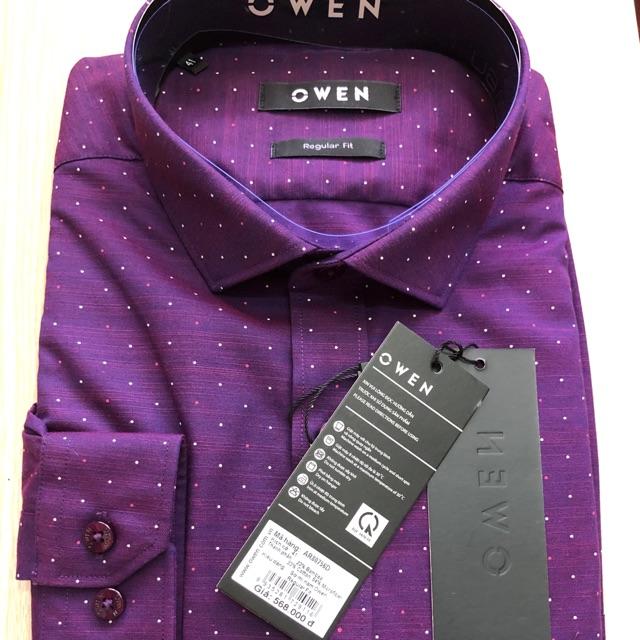Áo Sơ mi Nam Owen chính hãng sale shock