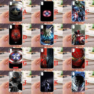 For iPhone XS MAX Avengers Silicone Phone Case