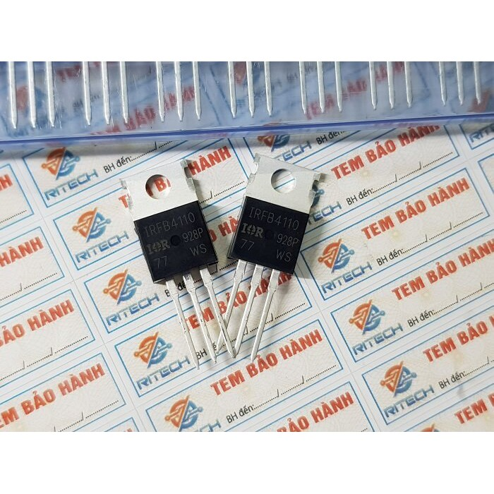 [Combo 5 chiếc] IRFB4110 Mosfet Kênh-N 100V/180A TO-220C