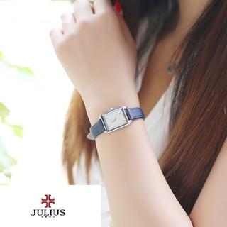 Đồng hồ nữ Julius dây da Ja-787A