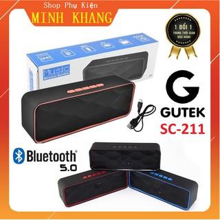 [Free Ship] Loa Bluetooth 211 Hỗ Trợ Thẻ Nhớ - Đài FM - USB, Chất Âm Trong - Bass Trầm Sâu Lắng Nghe Nhạc Cực Hay
