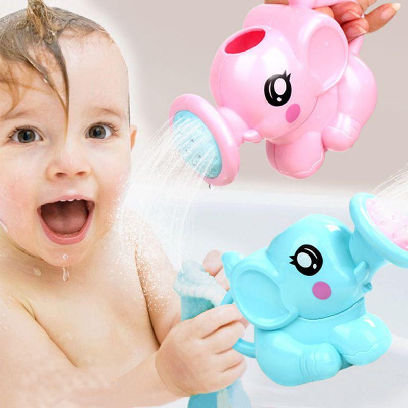 Đồ chơi phòng tắm vui nhộn thiết kế dạng bình tưới nước hình chú voi cho bé