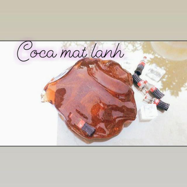 Clear slime hương cocacola
