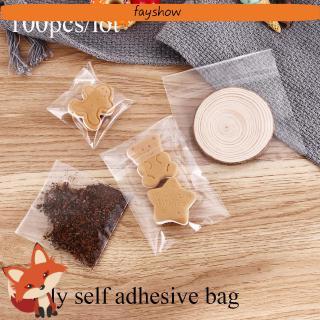Set 100 Túi Nhựa Đựng Bánh Kẹo Xinh Xắn thumbnail