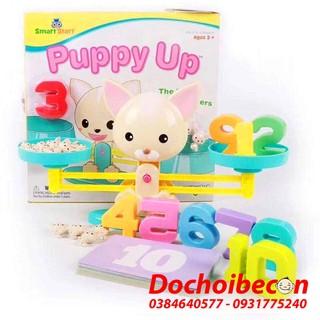 [FREE SHIP đơn 99K] – Bàn cân toán học Puppy up – Cân thăng bằng – Vui học toán