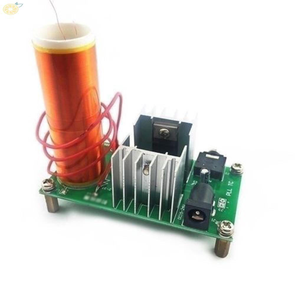 Bộ cuộn Tesla Plasma Mini 15W DC15-24V 2A 3.5mm chất lượng cao