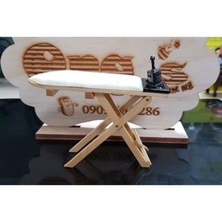 Bộ bàn ủi +chân bàn ủi mini cho búp bê