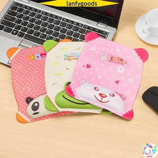 💮LANFY💮 Home Office Wrist Rest Sponge Mice Mat Mouse Pad Ergonomic Comfortable Non Slip Soft Thicken Wrist Support