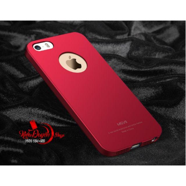 Ốp lưng Iphone 5,5s siêu mỏng chính hãng MSVII