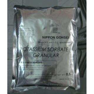 [Hàng Nhật] Chất bảo quản chống mốc Potassium Sorbate Granular