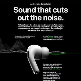Hình ảnh Tai Nghe Apple AirPods Pro True Wireless (VN/A) - Hàng Chính Hãng-7