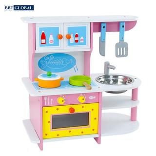 Đồ chơi bếp nấu ăn gỗ cho bé BBT Global MSN15024 thumbnail