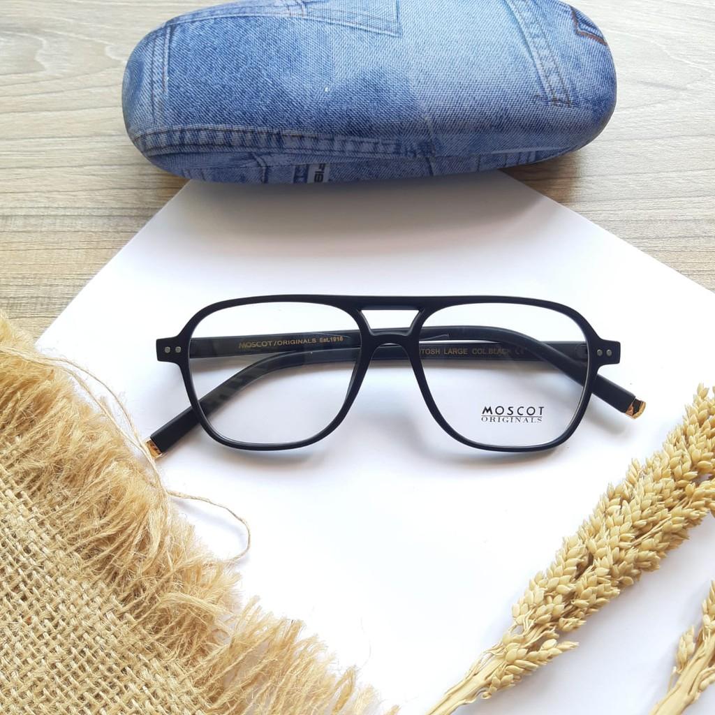 Mắt kính đen thời trang cho nam