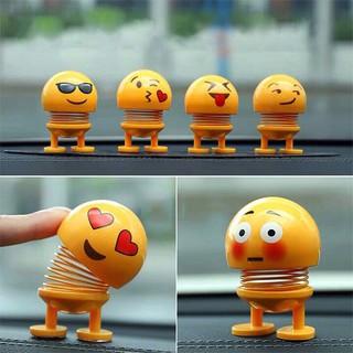 Combo 3 thú nhún emoji lò xo cảm xúc
