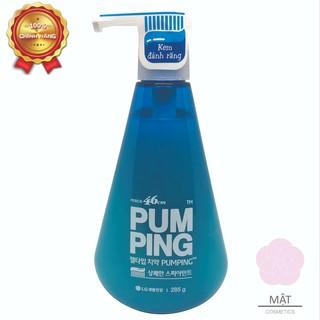 Kem Đánh Răng Hàn Quốc PUMPING Hương Bạc Hà – Trái Cam – Thảo Mộc 285g