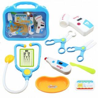 Hộp đồ chơi bác sĩ Toys House 660-16 màu xanh